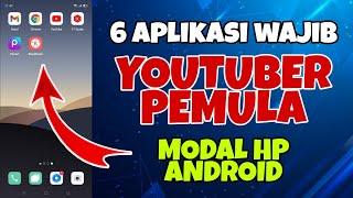 6 Aplikasi Youtuber Pemula Modal HP Android