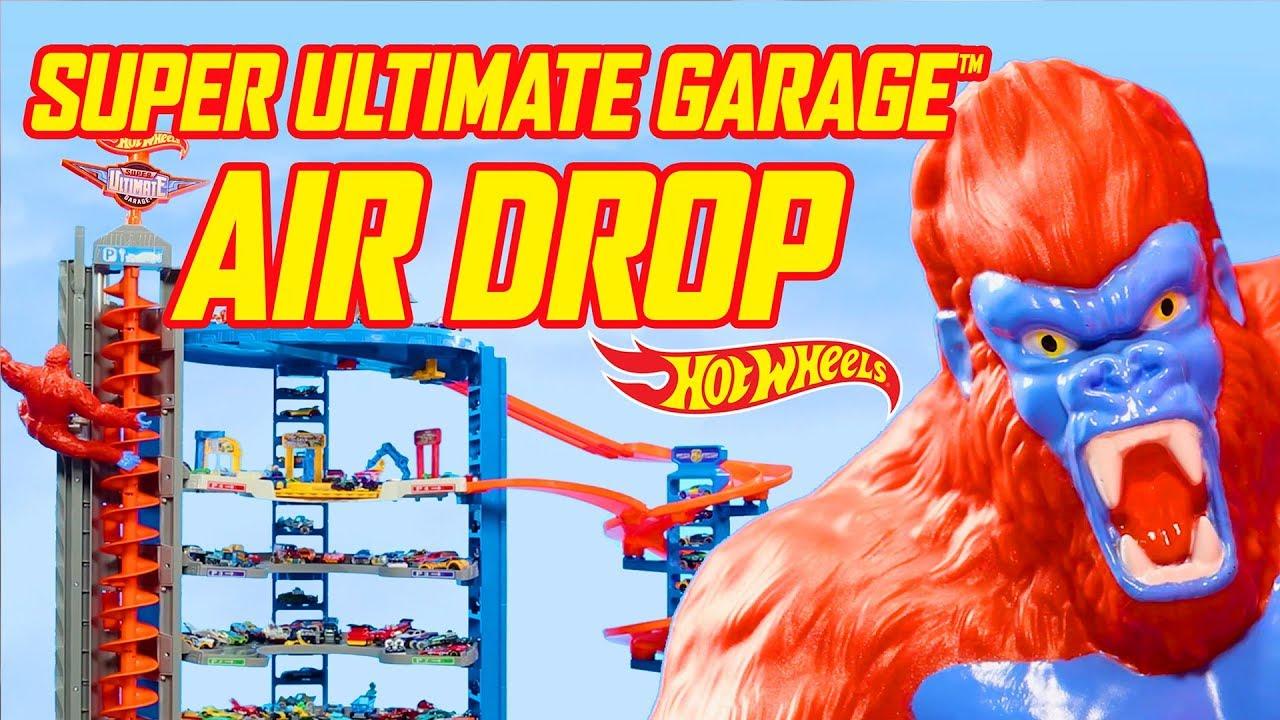 Super Ultimate Garage Air Drop Hot Wheels Youtube