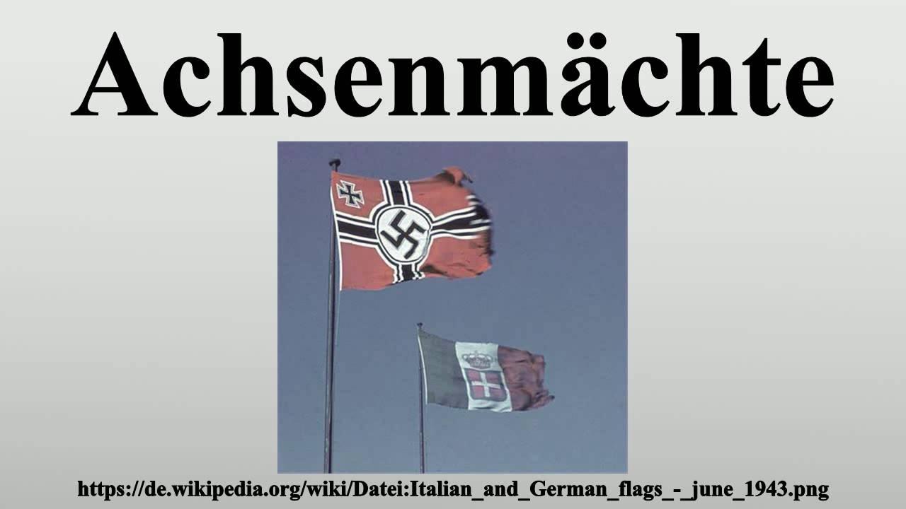 achsenmächte 2. weltkrieg