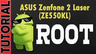 How to root and flash twrp without unlocking bootloader of Zenfone Laser 2 ZE550KL (Z00LD)