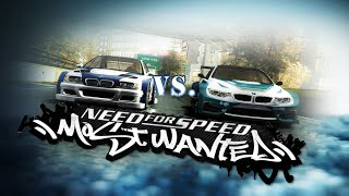 Need for speed: most wanted (2005) | bmw m4 ''no limits'' vs. bmw m3 gtr (mod) [hd]