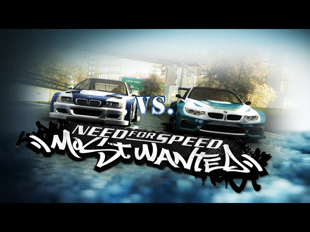 Need For Speed Most Wanted 2005 Bmw M4 No Limits Vs Bmw M3 Gtr Mod Hd Youtube