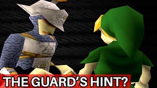 Why the Dying Guard in Ocarina of Time Hints at Something Bigger (Zelda)