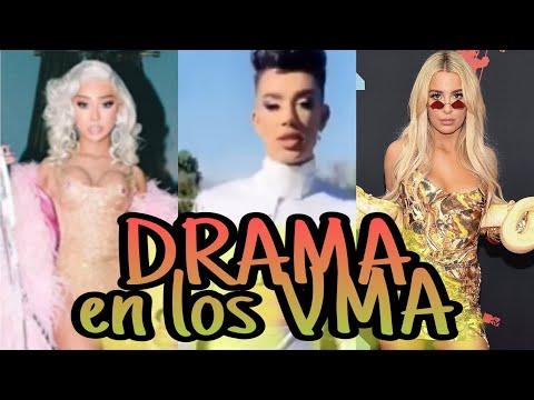 NIKITA DRAGUN, JAMES CHARLES Y TANA MONGEAU EN LOS VMA DRAMA - OMG thumbnail