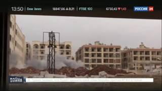 Алеппо снаряд взорвался в метре от бойца  Видео съемочной группы ВГТРК(, 2016-11-14T21:21:09.000Z)