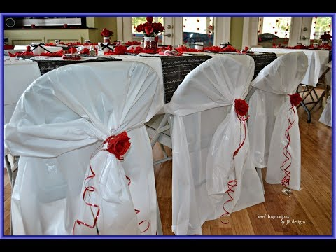 Plastic Chair Covers | Protect the Chair with Plastic Chair Covers