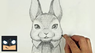 How To Draw PETER RABBIT   Sketch Saturday
