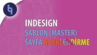 Indesign Dersleri: Master sayfa çeşitlendirme