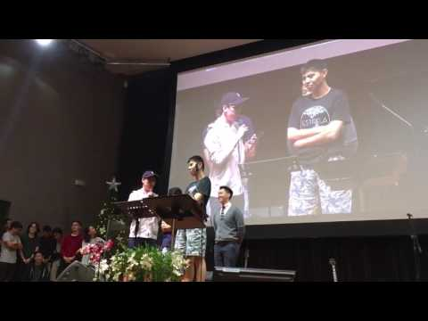 Sharing before baptism @ Central Christian Church Singapore