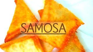 Samosa|How to make easy chicken samosa|How to fold a samosa leaf or sheet|
