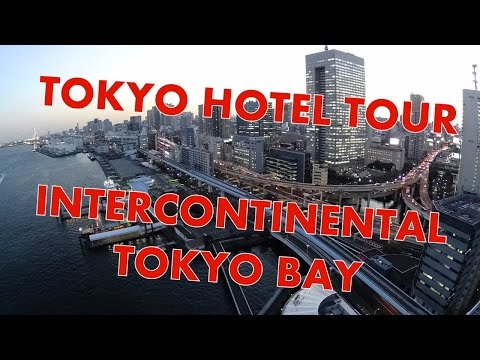 InterContinental Tokyo Bay - Room tour and Club InterContinental visit