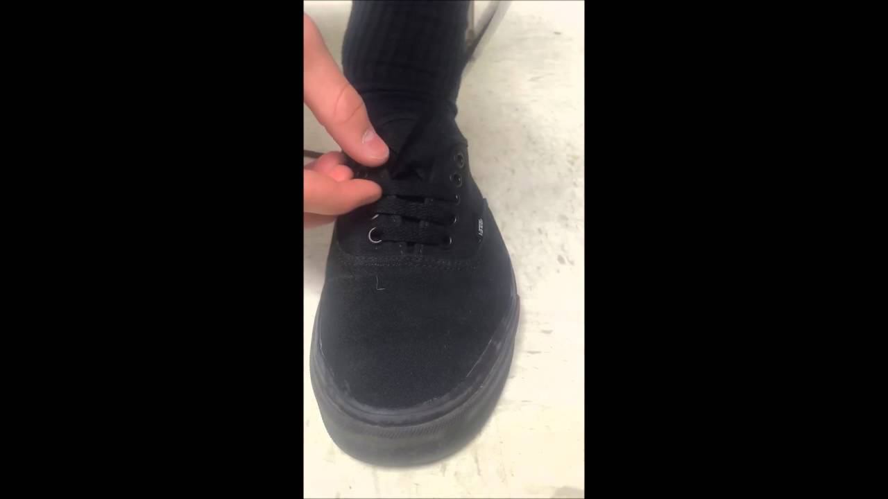 How To Lace Your Shoes Bar Pattern