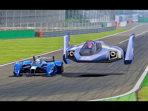 Red Bull X2010 vs F-Zero Blue Falcon - Spa
