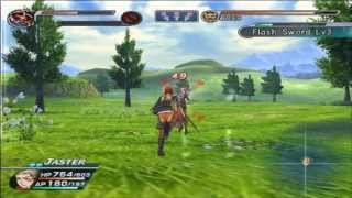 Rogue Galaxy gameplay boss battle Johanna HD 1080p pcsx2 Widescreen Game Patch