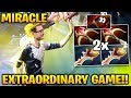 MIRACLE EXTRAORDINARY High Rank 2x Rapier! Intense Close Game of Dota 2