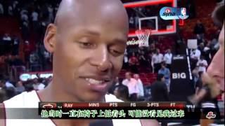 Ray Allen talks about KG