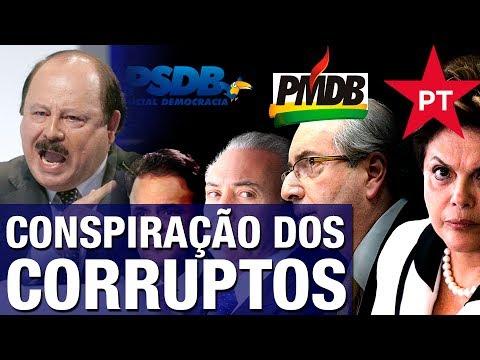 'PT, PMDB, PSDB e PP, os partidos do petrolão, querem castrar legendas para barrar renovação. O..