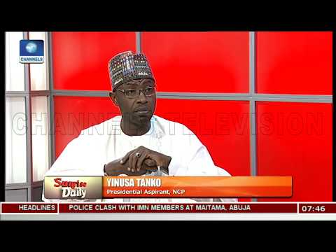 2019: Ensure A Clean Electoral Process, Keep Nigeria Alive & United, Tanko Warns INEC Pt.3