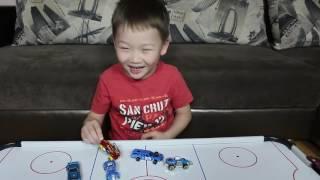 Обзор Игрушек Авто Хаммер Пикап Джип Распаковываем Подарки Видео для Детей