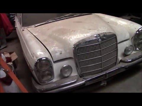 1969 mercedes benz 300sel 6 3 euro restoration part 1 for 1969 mercedes benz parts