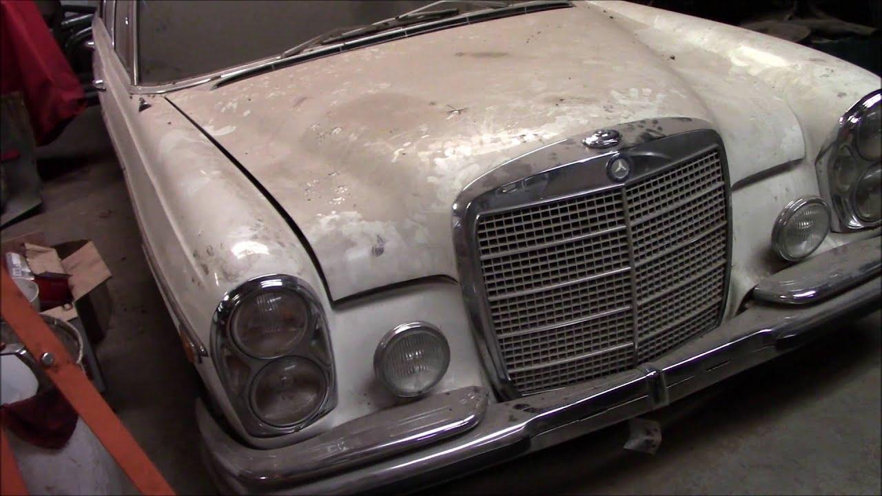 1969 mercedes benz 300sel 6 3 euro restoration part 1 doovi for 1969 mercedes benz parts
