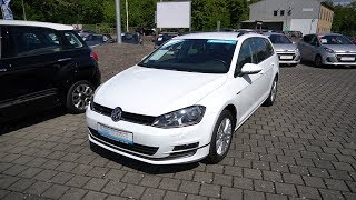 VW Golf 7 Variant Cup Walkaround Test Review