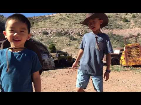 Gold King Mine and Ghost Town, Jerome (bonus footage)