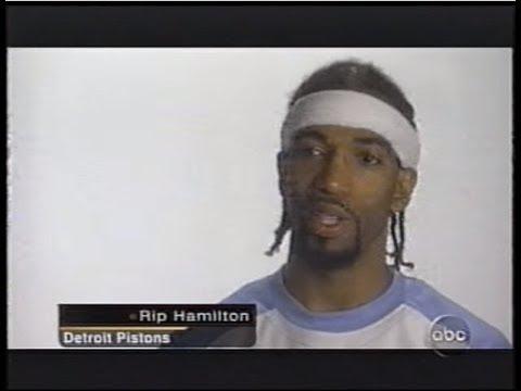 Richard Hamilton - Coatesville Hafltime Segment (2004 NBA Finals)