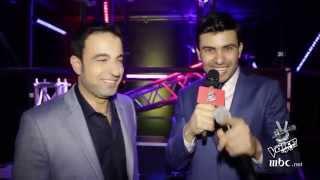 #MBCTheVoice - ستار سعد قبل صعوده على المسرح في العرض المباشر الرابع