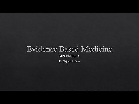 MRCEM FAST FACTS: Evidence Based Medicine