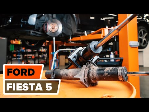 How to replace front shock absorbers on FORD FIESTA 5 TUTORIAL | AUTODOC