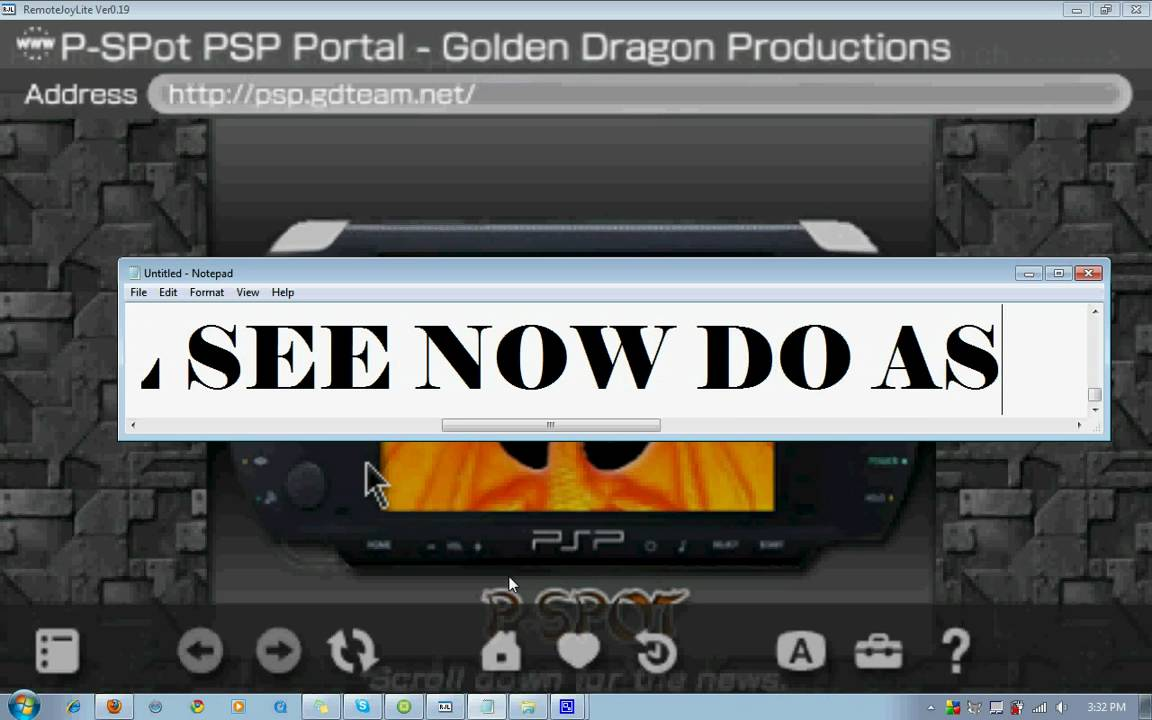 How to Put Applications and Homebrew Games on Your PSP