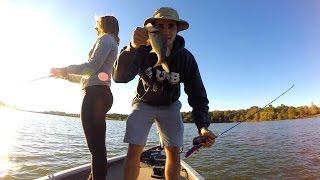 bf vs gf barbie rod fishing challenge