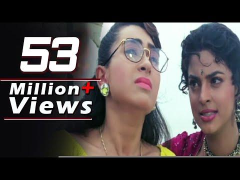 Juhi Chawla shouts on Karishma Kapoor - Andaz, Emotional Scene 15/22