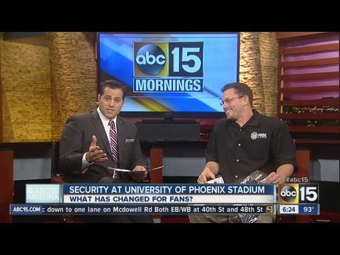 NFL security changes at University of Phoenix Stadium