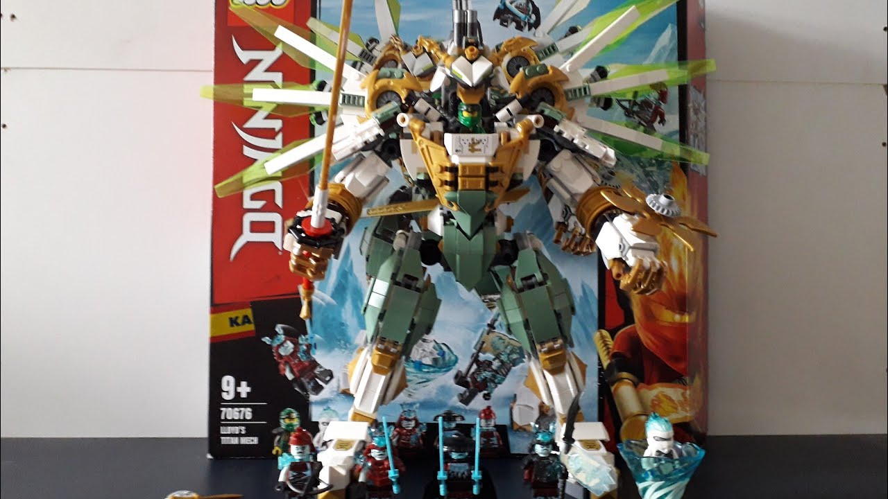 Lego Ninjago 70676 Lloyd S Titan Mech Unboxing Und Review Youtube