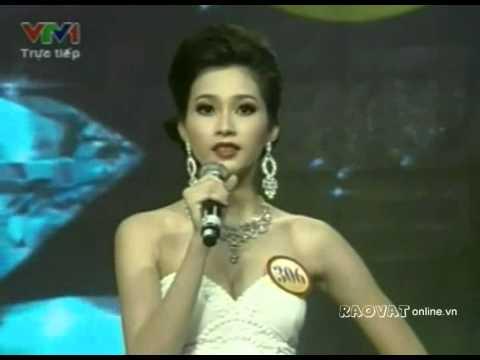 Phần thi ứng xử - Đặng Thu Thảo - Hoa hậu Việt Nam 2012