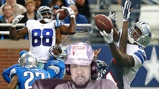 BETTER THAN ODELL!? DEZ BRYANT TOP 1O CATCHES REACTION