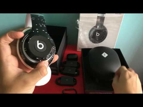 Beats Studio Wireless Pigalle - Beats By Dre (black And White Beats)- Unboxing