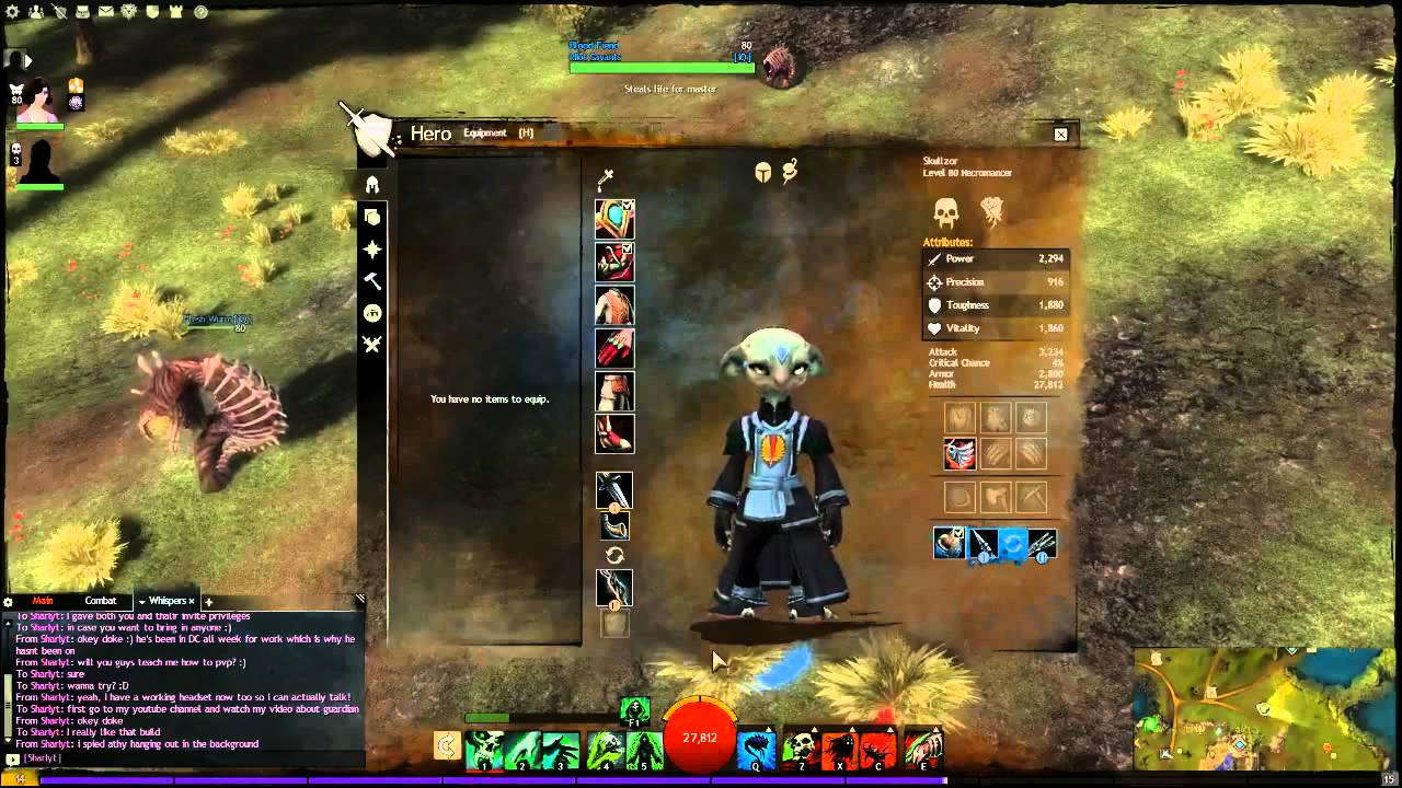 Guild Wars  Necromancer Minion Master Build
