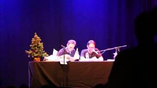 Prima Vista Lesung Teil 2 Entschuldigung nach einer Weihnachtsfeier(06.12.14 Köln Gloria)