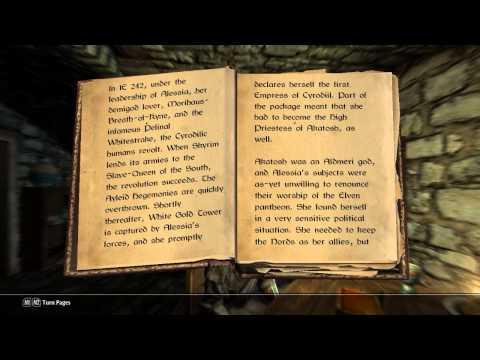 Skyrim: Shezarr and the Divines