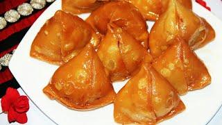 স্কুল গেটের সামনের দোকানের মিষ্টি সিঙ্গারা  Misti Shingara Recipe   Bangladeshi Shingara Recipe