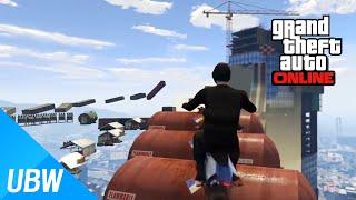GTA 5 불가능한 오토바이 파쿠르 레이스: Impossible Bike Parkour Race [GTA 5 Fun Job]