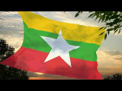 Flag and anthem of Myanmar
