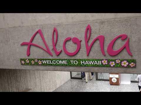 Traveling to Honolulu, Hawaii