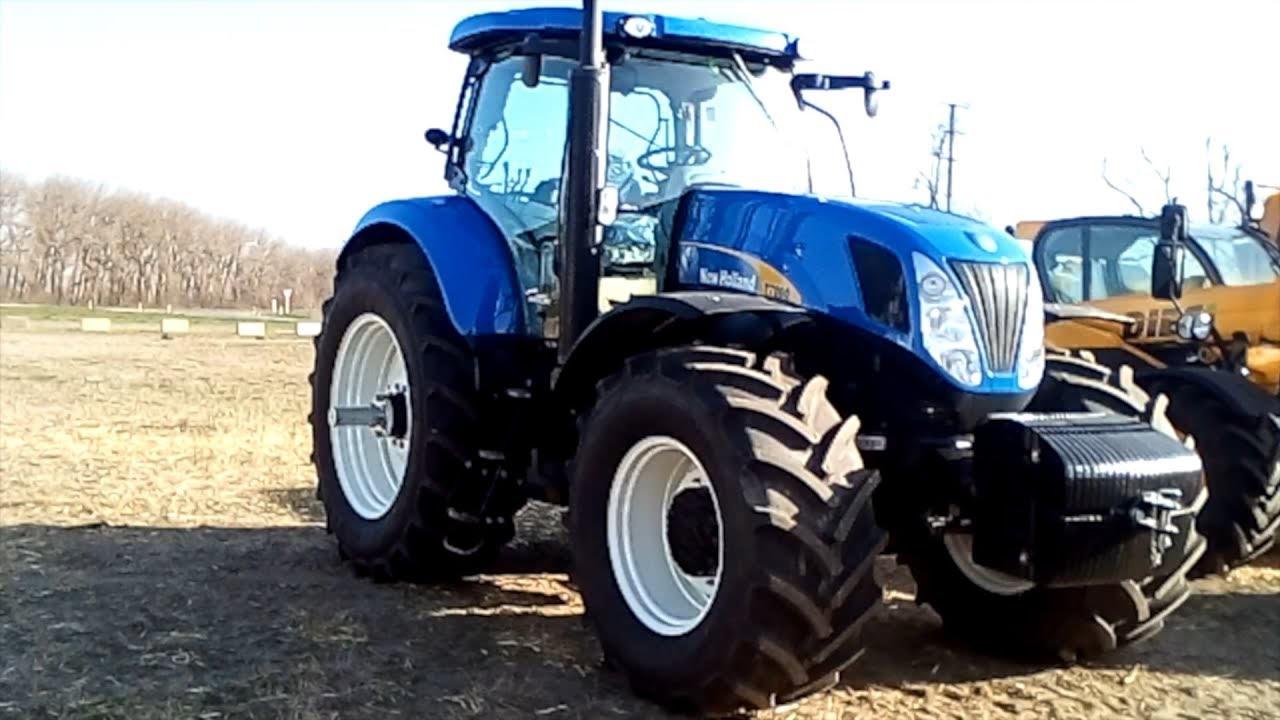 Поехали посмотрим на настоящий синий трактор! - YouTube