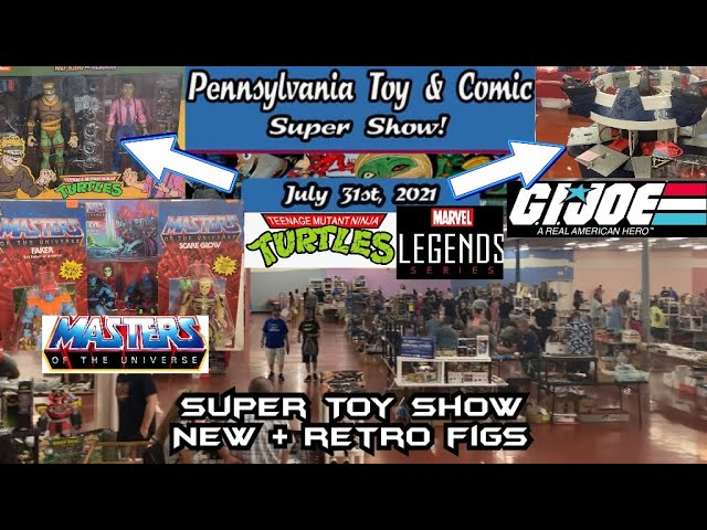 Toy Hunting at The Pennsylvania Toy and Comic Super Show at South Mall - Allentown