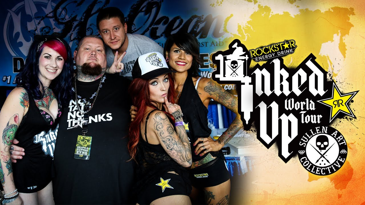TATTOO CONVENTION COVERAGE - Rockstar Energy Miss Inked Up Seattle
