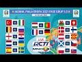 Jadwal Lengkap Piala Eropa 2021 | Fase Grub 1-3 | EURO 2021 | Live RCTI